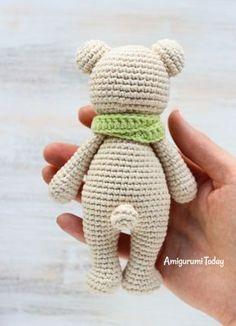 Free Cuddle Me Bear Amigurumi Pattern