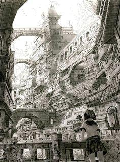 Mitamakura ✤ || CHARACTER DESIGN REFERENCES | キャラクターデザイン | çizgi film • Find more at https://www.facebook.com/CharacterDesignReferences http://www.pinterest.com/characterdesigh if you're looking for: bande dessinée, dessin animé #animation #banda #desenhada #toons #manga #BD #historieta #sketch #how #to #draw #strip #fumetto #settei #fumetti #manhwa #cartoni #animati #comics #cartoon || ✤