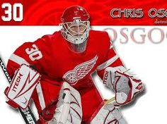 Detroit Red Wings Chris Osgood