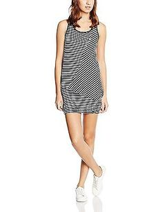 X-Large, blue - Marine Aop, alife and kickin Cameron Dress Women's Dress NEW
