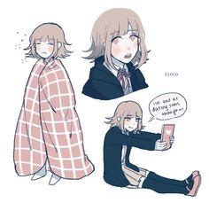 Art blogh Super Danganronpa, Danganronpa Memes, Danganronpa Characters, Nanami Chiaki, Princesa Peach, Pink Blood, Manga Anime, Familia Anime, And So It Begins
