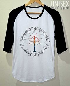 White Tree The Ring Space The Lord of The Ring T by iNakedapparel, $17.99