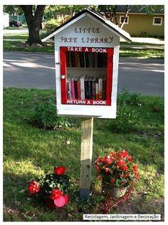 ideia legal de doação de livros
