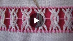 Unraveling that can be seen on both sides of the fabric. I use it to ad … - Stickerei Ideen Hardanger Embroidery, Lace Embroidery, Hand Embroidery Designs, Embroidery Stitches Tutorial, Sewing Stitches, Swedish Weaving Patterns, Christmas Embroidery Patterns, Drawn Thread, Crochet