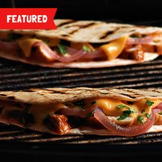 This ooey gooey Grilled Chicken Quesadilla recipe will make everyone at the table shout, 'Delicioso!'