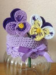 ideas for crochet jar toppers One Skein Crochet, Marque-pages Au Crochet, Chunky Crochet Scarf, Crochet Mignon, Crochet Cup Cozy, Crochet Home, Crochet Gifts, Cute Crochet, Irish Crochet Patterns