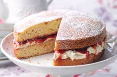 Head over to our Facebook page now to see our #TastyTuesday Victoria Sponge recipe.