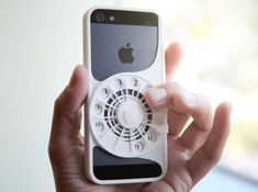 Mixing nostalgia with modernity, Joa Baldwin created a 3D-Printed phone case with a rotary dial built into it. Though it doesn't actually allow the rotary to input numbers into your phone, it's a neat concept that may bring back some great childhood memories -- or some comical ones of you getting your fingers stuck in the small circular dials.