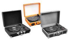 Pyle Audio Portable Turntable with Rechargeable Battery: Pyle Audio Portable Turntable with Rechargeable Battery and USB-to-PC Connection