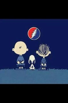 ⚡⚡⚡ Snoopy and his pals like the greatful dead.