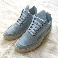 Women's Filling Pieces Shoes Worn once, in excellent condition. Comes with original box. Women's size 35 EUR / Will fit a size 5.5-6 US (run slightly big for a 35 EUR) Filling Pieces Shoes Sneakers