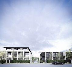 Conrad Architects Luxury Townhouse Development 01
