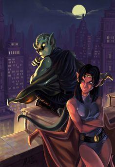 Gargoyles old fanart reboot, Rita Mira Disney Fan Art, Disney S, Disney Love, Gargoyles Cartoon, Disney Gargoyles, Manga Characters, Female Characters, Stuff And Thangs, Comic Book Artists