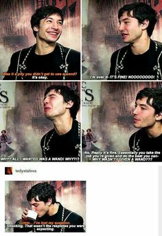 Ezra Miller is great