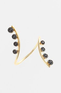 kismet by milka 'Geometry' Diamond Open Ring available at #Nordstrom