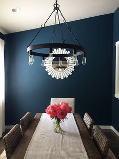 How to Add Character to a Builder Grade Home - Seaworthy Sherwin Williams Paint Color