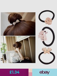 Hair Jewelry Dynamic Wholesale Female Korean Fashion Wig Hair Braided Rope Ring Simple Elastic Hairband Jewelry Sets & More