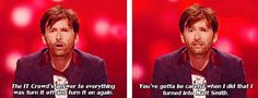 I am okay with David Tennant making #drwho jokes until the end of time.