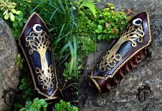 Elvish Mage bracer ^^ by Feral-Workshop.deviantart.com on @deviantART