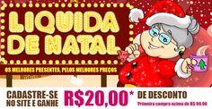 Evite filas e aproveite para fazer suas compras de natal em nossa loja!  www.casadasograenxovais.com.br