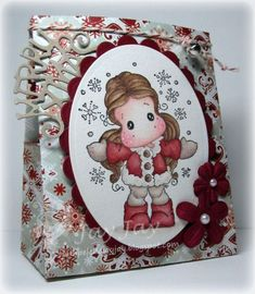 One Sheet Wonder Box, Magnolia Tilda in Cozy Coat, So Wrapped Merry Xmas DooHickey