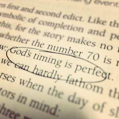 remember to be patient; God's timing is perfect