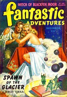 Publication: Fantastic Adventures, December 1943  Editors: Raymond A. Palmer Year: 1943-12-00 Publisher: Ziff-Davis Publishing Company  Cover: Robert Gibson Jones