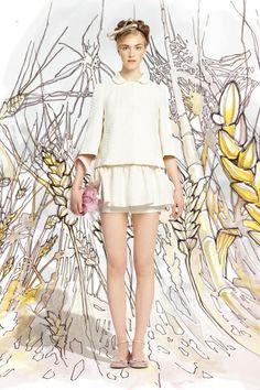 Red Valentino Spring/Summer 2014 #nyfw #mbfw #springsummer #fashionweek #collection  #2014 #ss14 #model #fashionshow #fashion