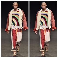 It's almost impossible to feel the winter blues with @viviennewestwoodofficial A/W 2016 #ThrowbackThursday #fur #fashion #sunny #milan #trends #furinsider #thefurinsider #viviennewestwood #chic #design #winter #fall #menswear2016 #fall2016 #menswear #runway #collection #rainbow #fashionblog #blogger #blog