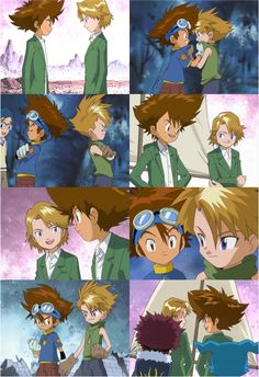 Taichi and Yamato. Their friendship is so awesome :)