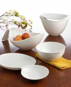 "Villeroy & Boch ""Flow"" Serveware Collection - Serveware - Dining & Entertaining - Macy's"