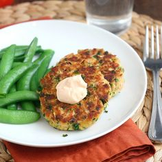 Asian Tuna Cakes with Spicy Lime Mayo