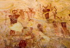 The Ancient Aliens - Alien Art - Sego Canyon Cave Paintings Mountain Photography, Fine Art Photography, Alien Painting, Cave Painting, Cave Drawings, Orange Art, Ancient Aliens, Ancient History, Cool Paintings