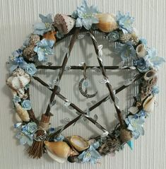 Wicca Witchcraft, Wiccan, Magick, Hedge Witch, Sea Witch, Out To Sea, Pentacle, Welsh, Wreaths