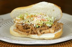 Savoring Time in the Kitchen: Pulled Pork and Cole Slaw Sandwiches for March Madness!