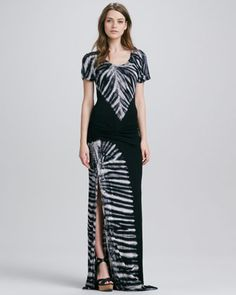 Young Fabulous and Broke Montauk Side-Slit Maxi Dress - Neiman Marcus