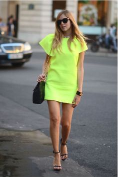 My favorite shade of neon with a splash of Chanel and Hermes. What more can a girl ask for!