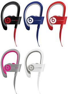 New Beats by Dre Powerbeats 2 Wireless Bluetooth In-Ear Earbud Headphones