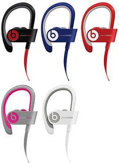 New Beats by Dre Powerbeats 2 Wireless Bluetooth In-Ear Earbud Headphones