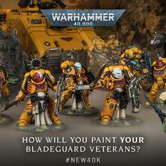 Yea I'm liking the new boys in yellow. Might have to be an early birthday present to myself - Warhammer40k Warhammer 40k Figures, Warhammer Paint, Warhammer 40k Miniatures, Warhammer 40000, Stormcast Eternals, Imperial Fist, Space Wolves, The Grim, Space Marine