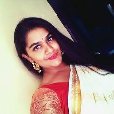 My first south Indian wedding saree ;)