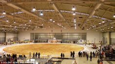 The World's Largest Pizza (It Has 19,800 Pounds Of Cheese On It)