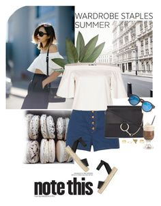 """Top 5 Summer Staples"" by little-curly-juli ❤ liked on Polyvore featuring rag & bone, TIBI, J.Crew, Chloé, Vince, Charlotte Russe, summer2015, polyvorecontest and summerstaples"