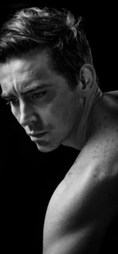 Lee Pace  So apparently he used to be a model. That's what I heard anyway. Mmmm look at his beautifully freckled shoulders. Someone pls put this man in a l'homme Dior ad.
