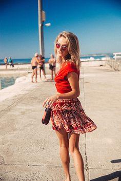 Echo Mini Skirt Mumbai - Arnhem Clothing