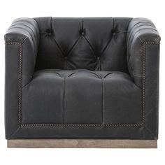 Glider Rocking Chair, Rocking Chair Nursery, Big Chair, Swivel Club Chairs, Swivel Chair, Black Leather Chair, Leather Chairs, Blue Dining Room Chairs, Office Chairs