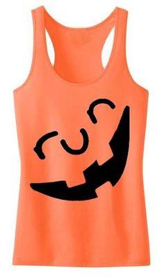 Endure Jewelry: Run-O-Lantern Tank: Run Pumpkin Shirt