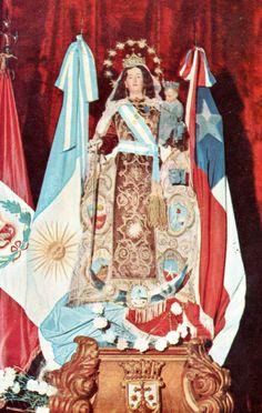 NUESTRA SEÑORA DEL CARMEN DE CUYO, Patrona y Generala del Ejército de los Andes organizado por el Gral. José de San Martín, Patrona de la Educación de Mendoza y de la 8va. Brigada de Montaña.
