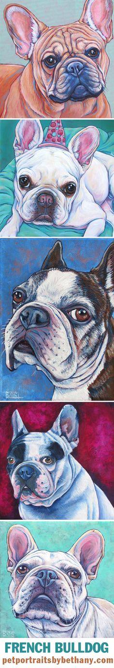 French Bulldog# by Bethany Salisbury More