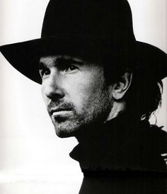The Edge. By Anton Corbijn Great Bands, Cool Bands, The Edge U2, Dutch Artists, Cultura Pop, Film Director, Rock Music, Music Artists, Famous People